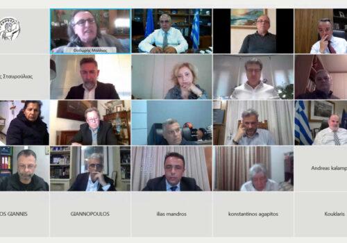 Τηλεδιάσκεψη Υπουργού Οικονομικών με το Επαγγελματικό Επιμελητήριο Αθηνών (video) | 19.4.2021