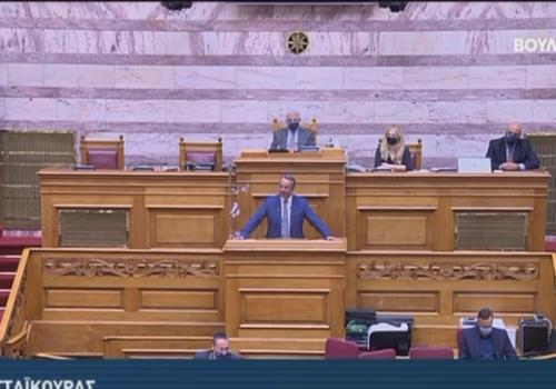 Ομιλία του Υπουργού Οικονομικών στην Ολομέλεια της Βουλής (video) | 27.5.2021