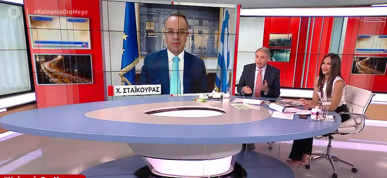 Ο Υπουργός Οικονομικών στην Κοινωνία Ώρα MEGA (video) | 8.6.2021