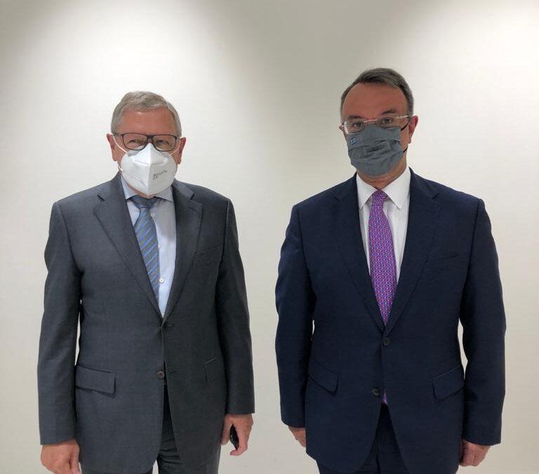 Λουξεμβούργο: Δηλώσεις Χρήστου Σταϊκούρα – Klaus Regling μετά τη συνάντησή τους | 16.6.2021
