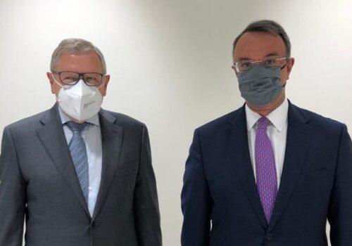 Λουξεμβούργο: Δηλώσεις Χρήστου Σταϊκούρα – Klaus Regling μετά τη συνάντησή τους   16.6.2021