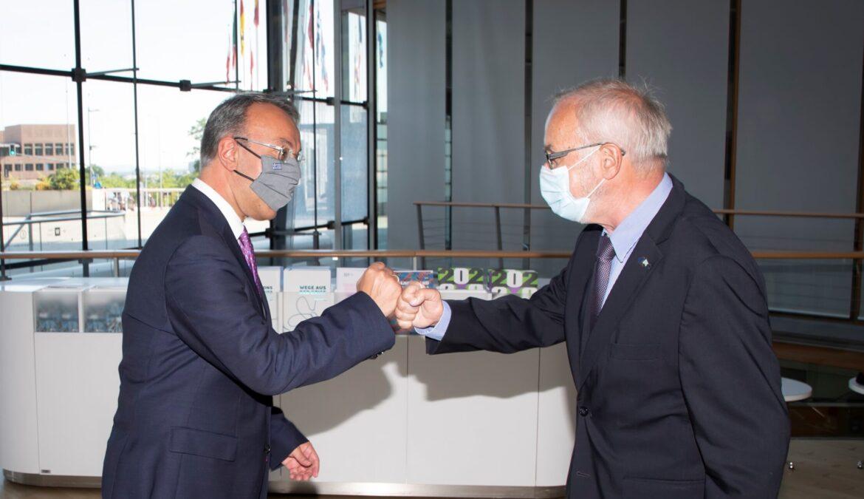 Ο Υπουργός Οικονομικών στην έδρα της ΕΤΕπ στο Λουξεμβούργο | 16.6.2021