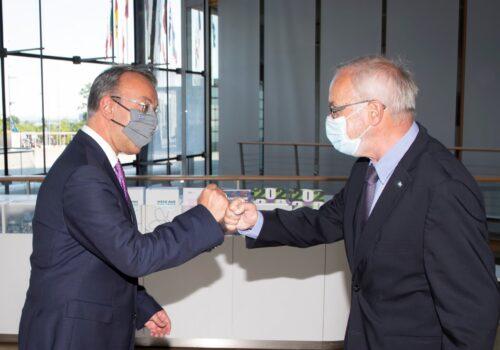 Ο Υπουργός Οικονομικών στην έδρα της ΕΤΕπ στο Λουξεμβούργο   16.6.2021