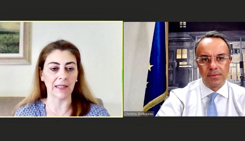 Ο Υπουργός Οικονομικών στην Ημερίδα «Παρουσίαση του Σχεδίου Ανάκαμψης και Ανθεκτικότητας Ελλάδα 2.0» | 29.6.2021