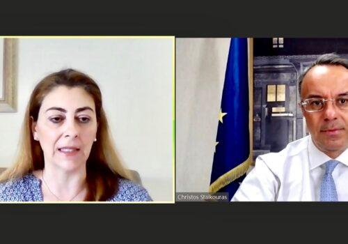Ο Υπουργός Οικονομικών στην Ημερίδα «Παρουσίαση του Σχεδίου Ανάκαμψης και Ανθεκτικότητας Ελλάδα 2.0»   29.6.2021