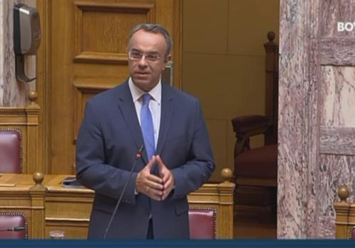 Βουλή: Ο Υπουργός Οικονομικών απαντά στην Επ. Ερώτηση του Μπάμπη Παπαδημητρίου | 28.6.2021