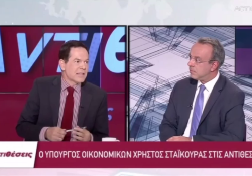Ο Υπουργός Οικονομικών στο Action 24 με τον Δημήτρη Τάκη (video)   28.6.2021