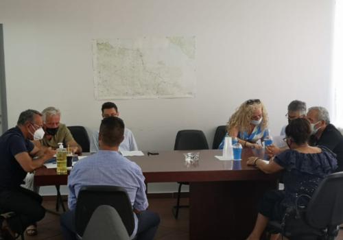 Λοκρίδα: Συνάντηση Εργασίας στη Μαλεσίνα για τα Κόκκινα Σπίτια | 30.7.2021