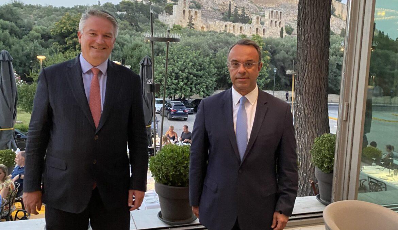 Συνάντηση Υπουργού Οικονομικών με το νέο Γενικό Γραμματέα του ΟΟΣΑ   1.7.2021