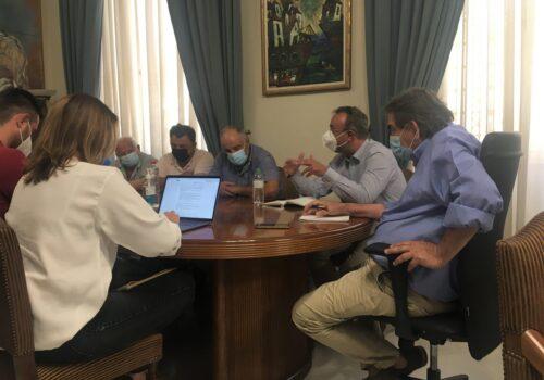 Αρδευτικό Δίκτυο Αν. Βίστριζας: Συνάντηση εργασίας για να προχωρήσει και να ολοκληρωθεί το έργο | 29.7.2021