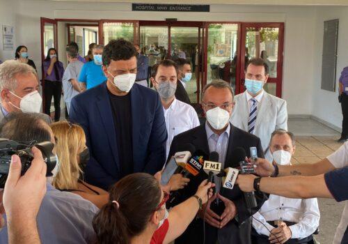 ΓΝΛ: Εγκαινιάστηκε το νέο Αιμοδυναμικό Εργαστήριο (video) | 28.7.2021