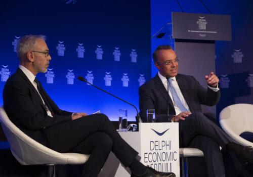 Ο Υπουργός Οικονομικών στο Οικονομικό Φόρουμ Δελφών   2.7.2021