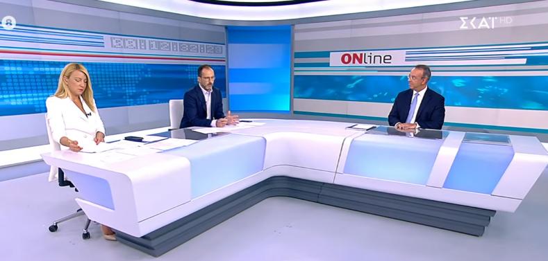 Ο Υπουργός Οικονομικών στην τηλεόραση του ΣΚΑΪ (video) | 24.8.2021