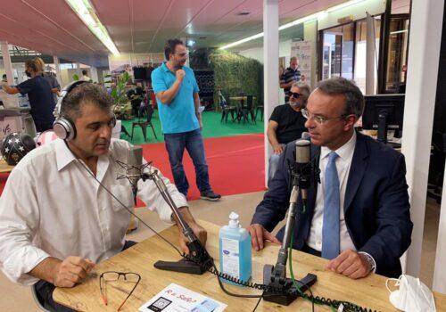 85η ΔΕΘ: Συνέντευξη Υπουργού Οικονομικών στο ραδιόφωνο του Status Fm | 11.9.2021