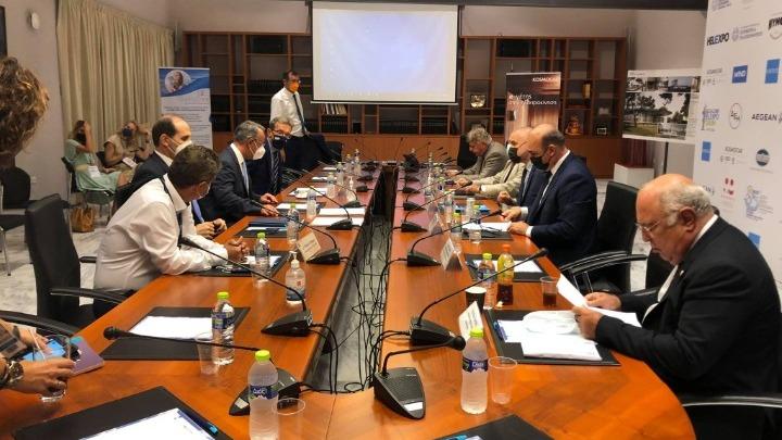 85η ΔΕΘ: Συνάντηση του Υπουργού Οικονομικών με Εκπροσώπους Φορέων της περιοχής   16.9.2021