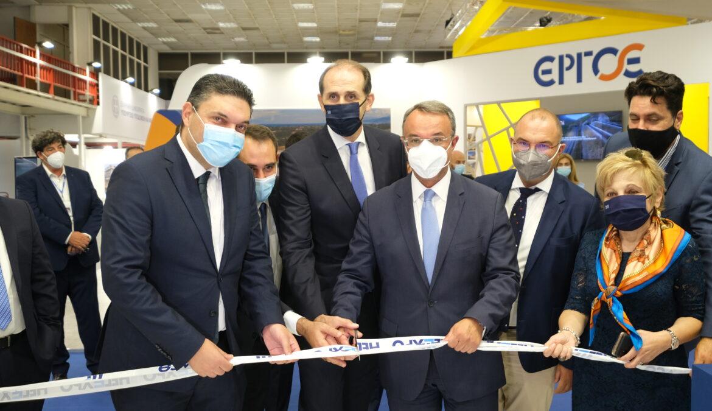 85η ΔΕΘ: Εγκαινιάστηκε το περίπτερο του ΥπΟικ από τους Υπουργούς Οικονομικών Ελλάδας και Κύπρου | 11.9.2021