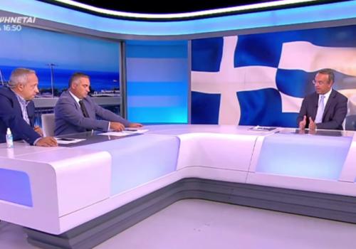 Ο Υπουργός Οικονομικών στην τηλεόραση του ΣΚΑΪ (video)   21.9.2021