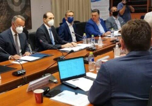 Στα Γραφεία της ΔΕΘ ο Υπουργός Οικονομικών – Σύσκεψη με επιχειρηματίες | 16.9.2021