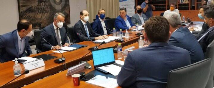 Στα Γραφεία της ΔΕΘ ο Υπουργός Οικονομικών – Σύσκεψη με επιχειρηματίες   16.9.2021