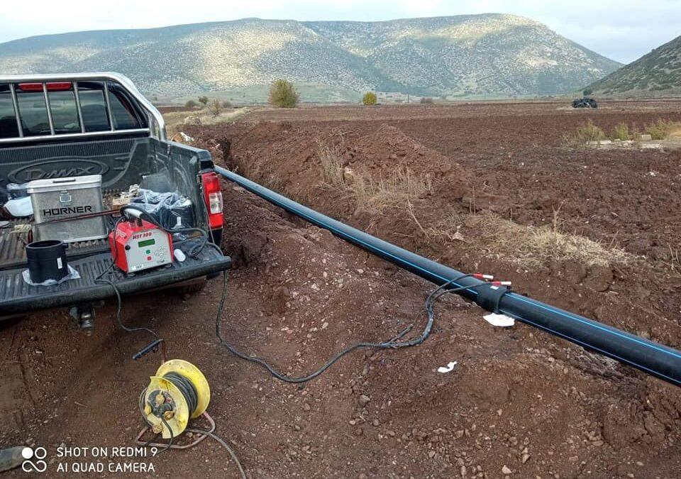 Έξαρχος: Ολοκληρώνεται το έργο αντικατάστασης του Δικτύου Ύδρευσης | 19.12.2020