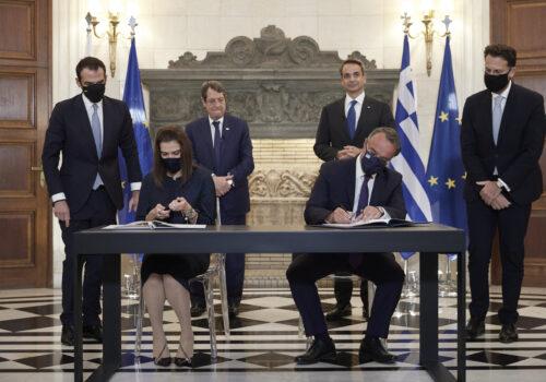 Μνημόνιο Συνεργασίας για την ανασυγκρότηση και αναβάθμιση περιοχών της Αν. Αττικής | 19.10.2021