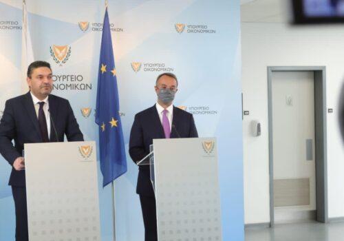 Τοποθέτηση του Υπουργού Οικονομικών μετά τη συνάντησή του με τον ΥπΟικ της Κύπρου   22.10.2021