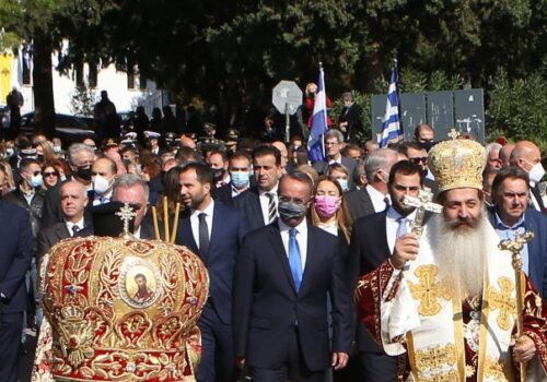 Εκπρόσωπος της Κυβέρνησης στον εορτασμό της Λαμίας ο Υπουργός Οικονομικών | 18.10.2021