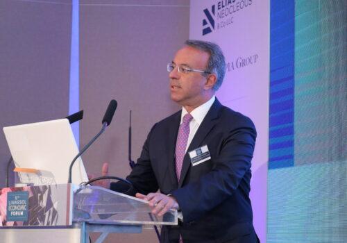 Ο Υπουργός Οικονομικών στο 12th Limassol Economic Forum στην Κύπρο (video)   22.10.2021