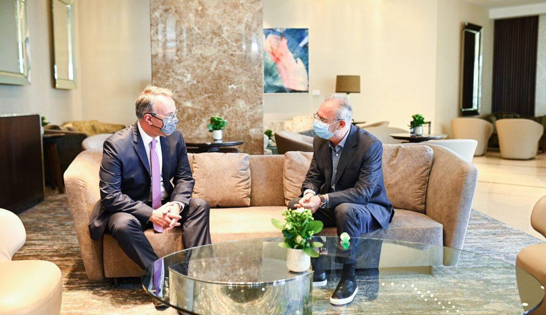 Κύπρος: Συνάντηση Υπουργού Οικονομικών με τον Πρόεδρο του ΔΗΣΥ | 22.10.2021