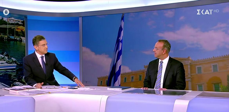 Ο Υπουργός Οικονομικών στον ΣΚΑΪ με τον Γιώργο Αυτιά (video)   9.10.2021